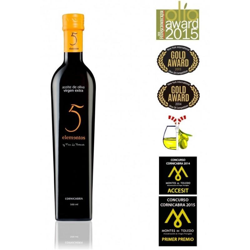 aceite de oliva gourmet 5 ELEMENTOS CORNICABRA