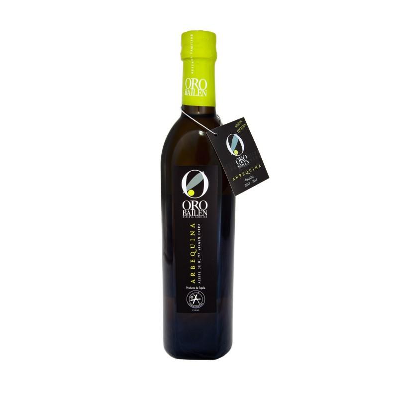 Huile d'olive extra vierge espagnole, Oro Bailen Arbequina,