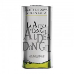 Spanish Olive Oil tin 5 litres  La Aldea de Don Gil