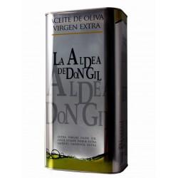 Spanisches Olivenöl 5 liter kanister La Aldea de Don Gil
