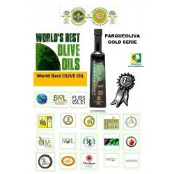 The world's best Olive Oil Parqueoliva Gold