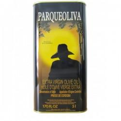 Spanish olive oil 5 litres tin Parqueoliva
