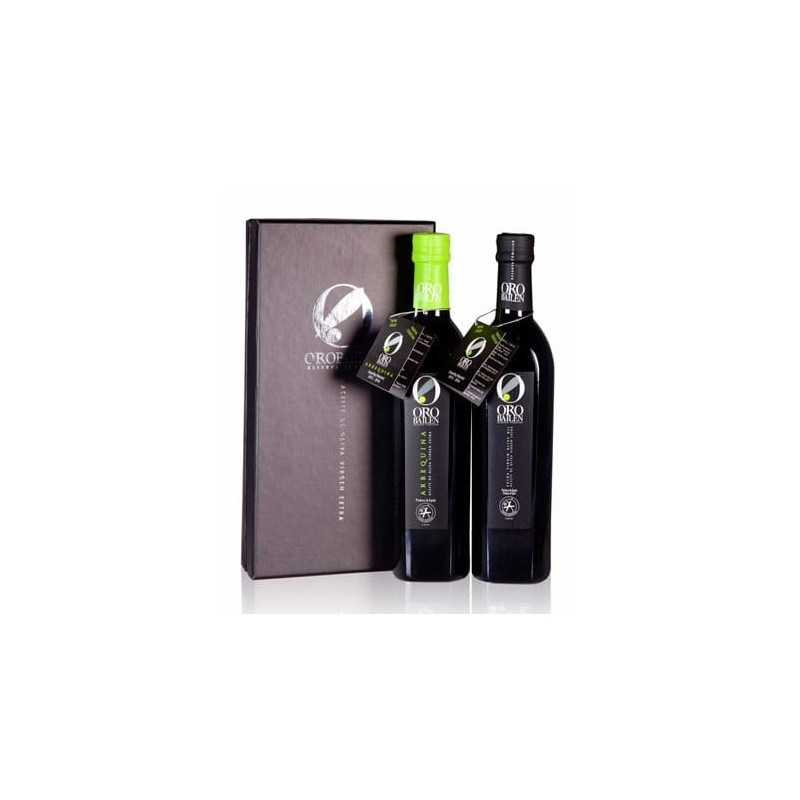 Spanisches Olivenöl Geschenksets duo-pack Oro Bailen