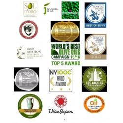 Regalo para eventos miniatura aceite oliva