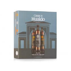 COFFRET CADEAU HUILE OLIVE  ESPAGNOLE CASAS DE HUALDO