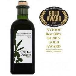 Huile d'olive bio premiere pression a froid Oro del Desierto