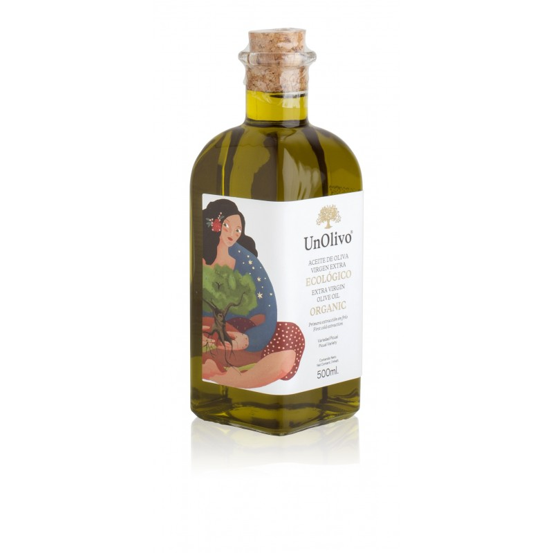 Aceite de oliva ecológico picual, Un Olivo