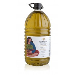 HUILE D'OLIVE VIERGE EXTRA BIO 5 LITRES, UN OLIVO