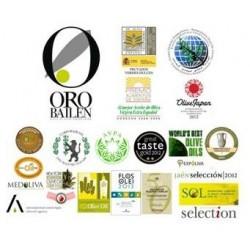 Huile d'olive cadeau et detail pour invités mariage, Oro Bailen Arbequina,