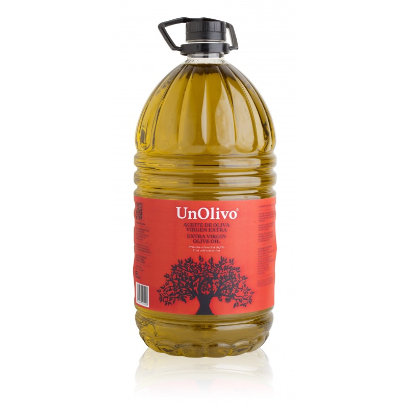 BUY SPANISH OLIVE OIL 5 LITRES, UN OLIVO