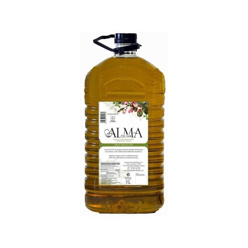 Spanish olive oil 5L bottle Alma