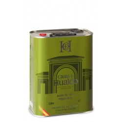 "GOOD OLIVE OIL TIN 3L CASAS DE HUALDO ""MILD"""