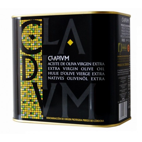 Extra Virgin Olive Oil 2L tin Cladium Picudo