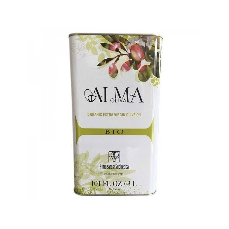 Spanish organic olive oil 3L