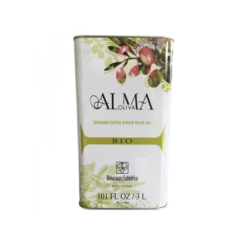 Aceite de oliva ecológico lata 3L