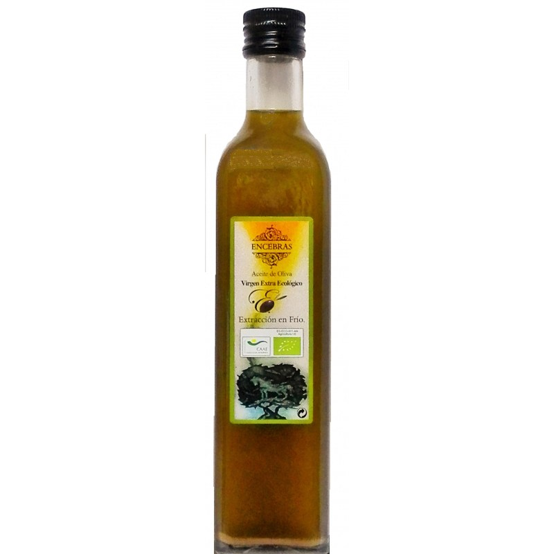 Huile d'olive vierge extra bio Encebras