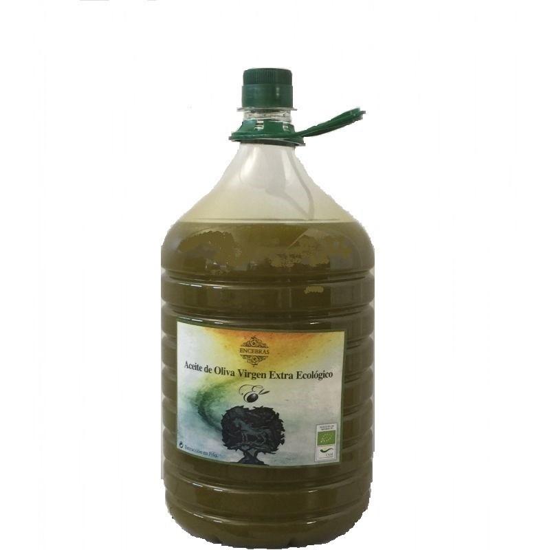 Aceite de oliva ecológico garrafa 5L