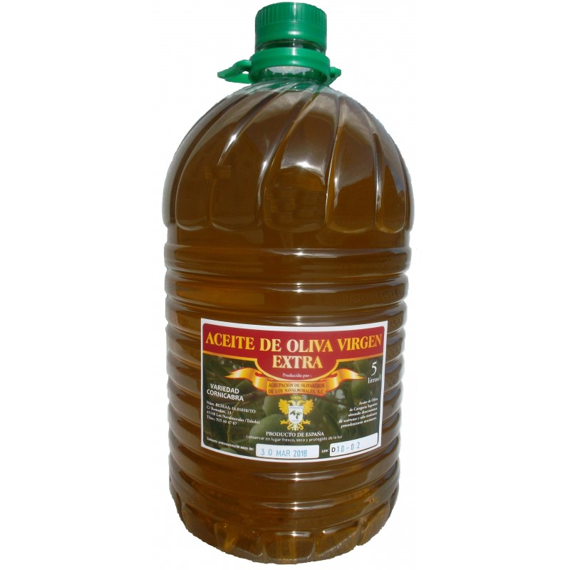 Spanish extra virgin olive oil 5 litres