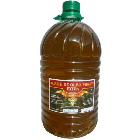 来自西班牙的特级初榨橄榄油。 橄榄油5升