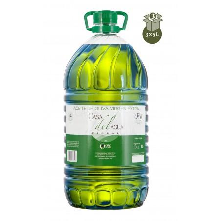 OLIVE OIL 3 BOTTLES X 5L CASA DEL AGUA