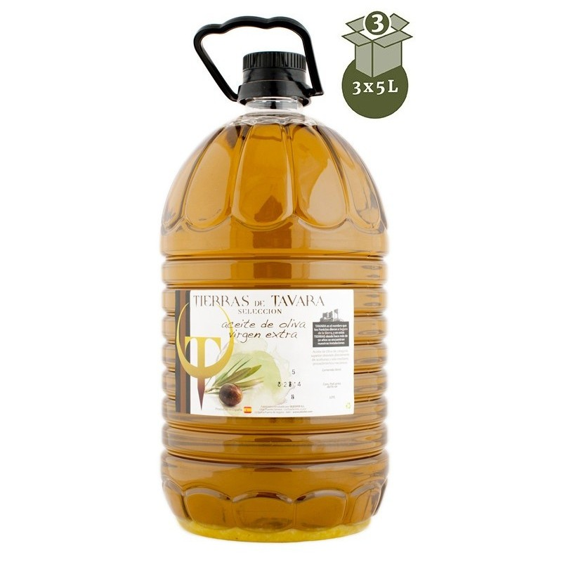 Aceite de oliva 5L D.O Sierra Segura