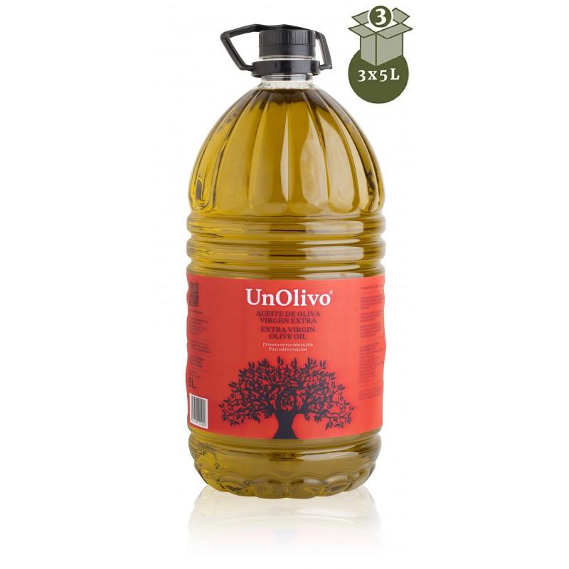 BUY SPANISH OLIVE OIL 5 LITRES, UN OLIVO